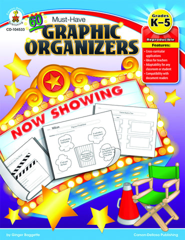 60 MUST-HAVE GRAPHIC ORGANIZERS BOOK