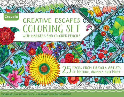 AGED UP COLORING BOOK AND MARKER GIFT SET