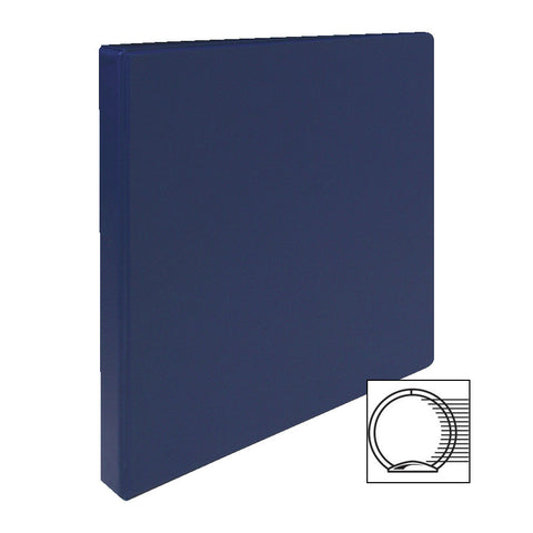 3 RING BINDER 1/2'' CAPACITY 11''X8 1/2'' DARK BLUE