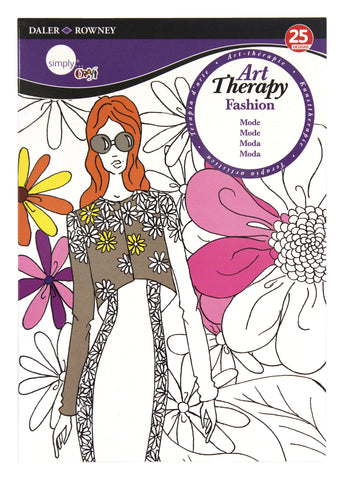 ART THERAPY COLORING BOOK FASHION