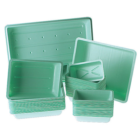 TRAY PLANT PS 8X12X2.5IN PACK OF 18
