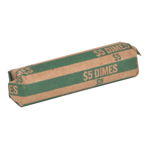 WRAPPER DIME GREEN SPRTCW10 PACK OF 1000