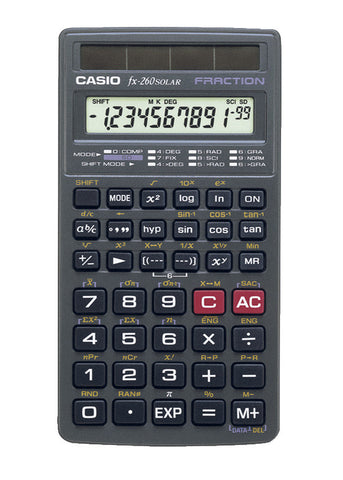 10 DIGIT SCIENTIFIC CALCULATOR 3 1/8''X6 3/8''X1/2'' BLACK
