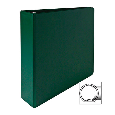 3 RING BINDER 2'' CAPACITY 11''X8 1/2'' GREEN