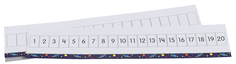 WRITE-ON WIPE-OFF NUMBER PATHS 1-20 GR.1-2 SET OF 10