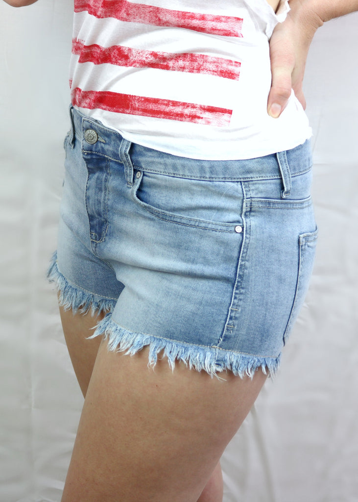Frayed Shorts