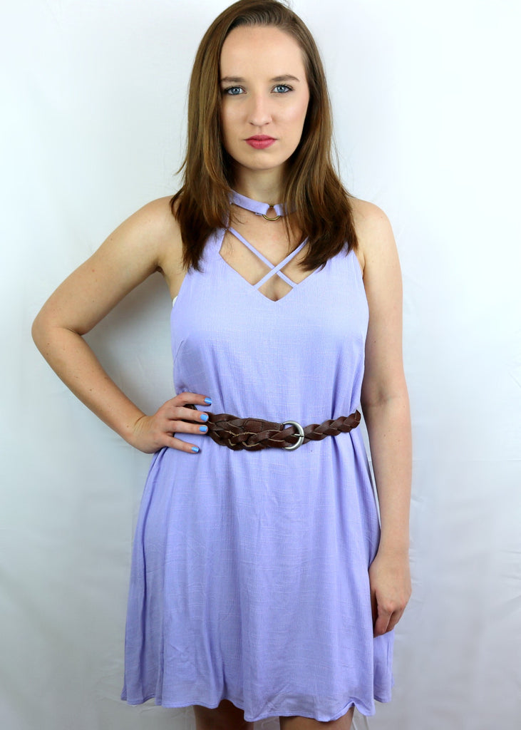 Loving You Is Fun Lavender Dress
