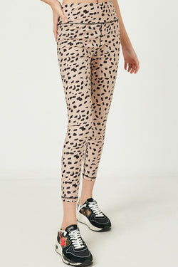 KIDS LEOPARD ATHLETIC PANT