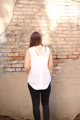 Cut to the Chase Top by Simply Noelle