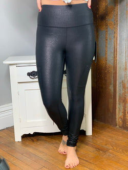 PEBBLE LEGGINGS W/ SIDE ZIPPER POCKET