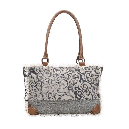 MYRA LEAF PRINT BAG