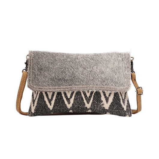 MYRA PEARL GREY SMALL AND CROSSBODY