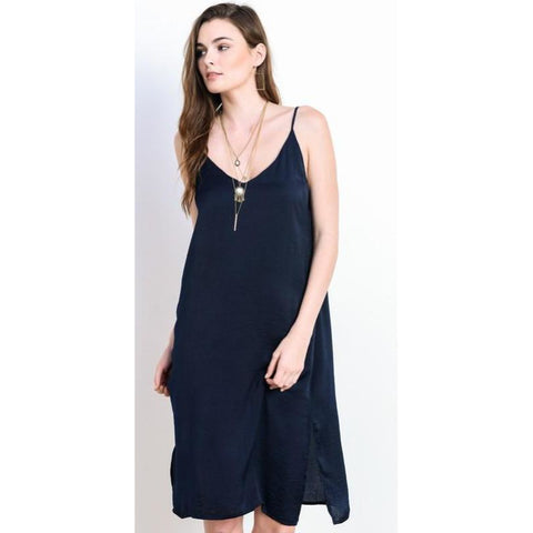 Isabella Dress- Navy