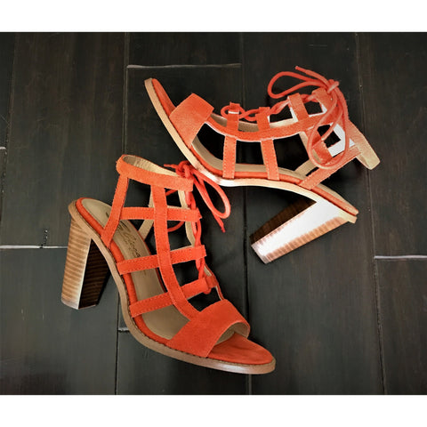 Orange Crush Sandals