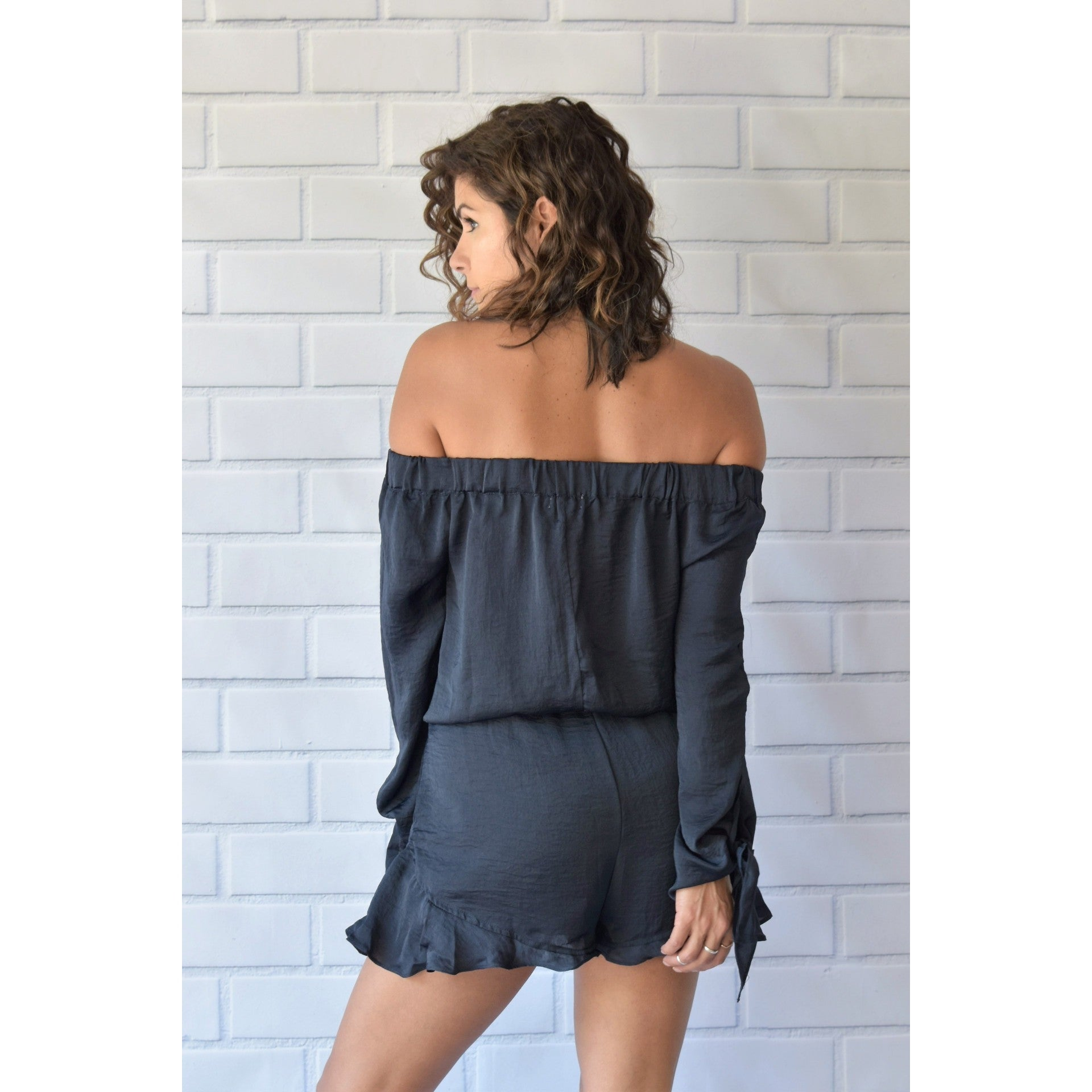 Midnight Sunset Romper