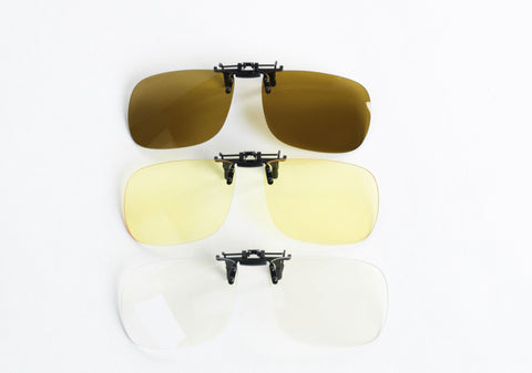 85a9f4c9bc1e If you prefer lenses that you can seamlessly clip on and off, we have five  different ClipOn® styles to accommodate a wide range of prescription glasses  ...