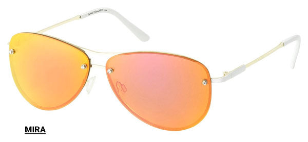 Mira women's aviator sunglasses