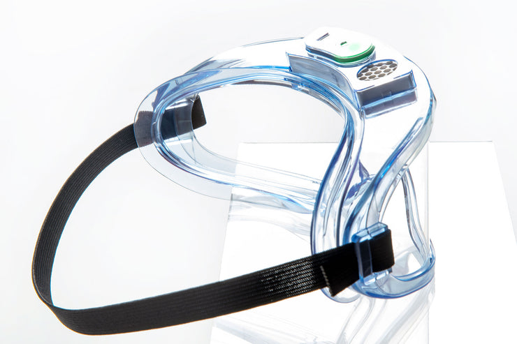 PanoShield™ Electronic Anti-Fog Goggles 4-pack