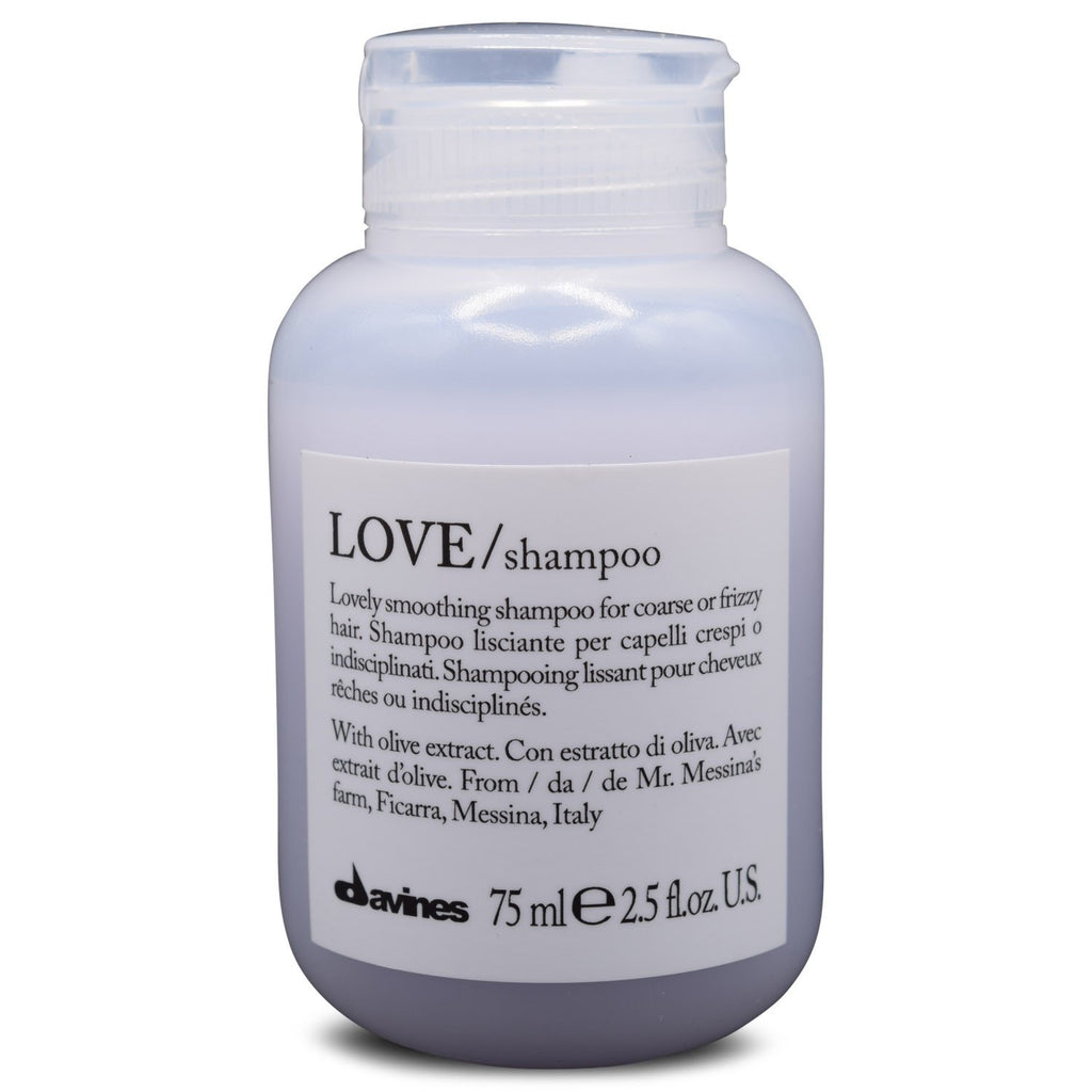 DAVINES ~ LOVE SMOOTHING SHAMPOO TRAVEL ~ 2.5FL OZ