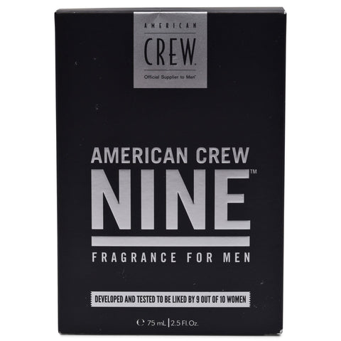 AMERICAN CREW ~ NINE FRAGRANCE FOR MEN ~ 2.5 FL OZ