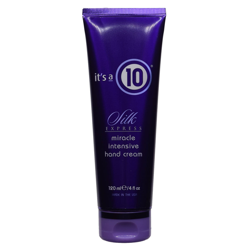 IT'S A 10 -Silk Express Miracle Intensive Hand Cream 4 fl oz