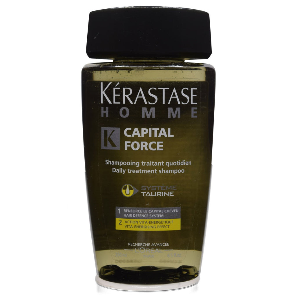 **DUPLICATE ITEM - USE 1389648***KERASTASE | HOMME | FOR MEN CAPITAL FORCE VITA-ENERGIZING SHAMPOO | 8.5 FL OZ