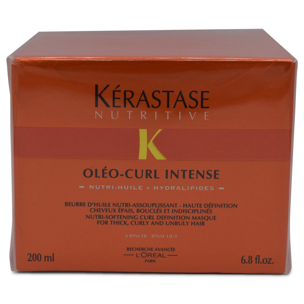 KERASTASE | NUTRITIVE | OLEO-CURL INTENSE CURL DEFINITION MASQUE | 6.8 FL OZ