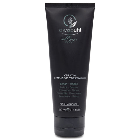 PAUL MITCHELL ~ AWAPUHI WILD GINGER ~ KERATIN INTENSIVE TREATMENT ~ 3.4 oz
