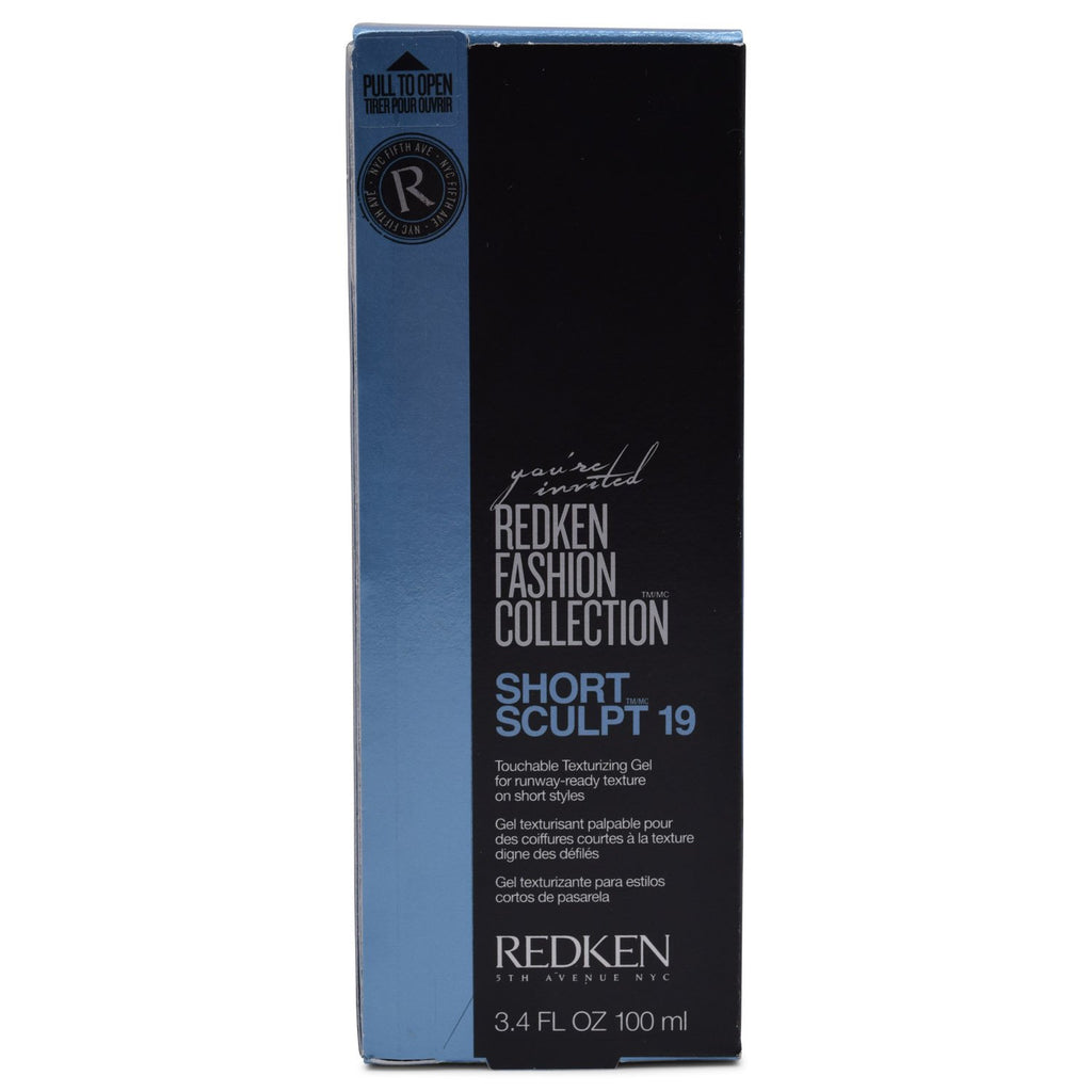 REDKEN | 19 Short Sculpt Touchable Texturizing Gel 3.4 fl oz