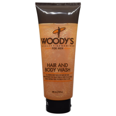 WOODY'S -For Men Hair and Body Wash 10 fl oz