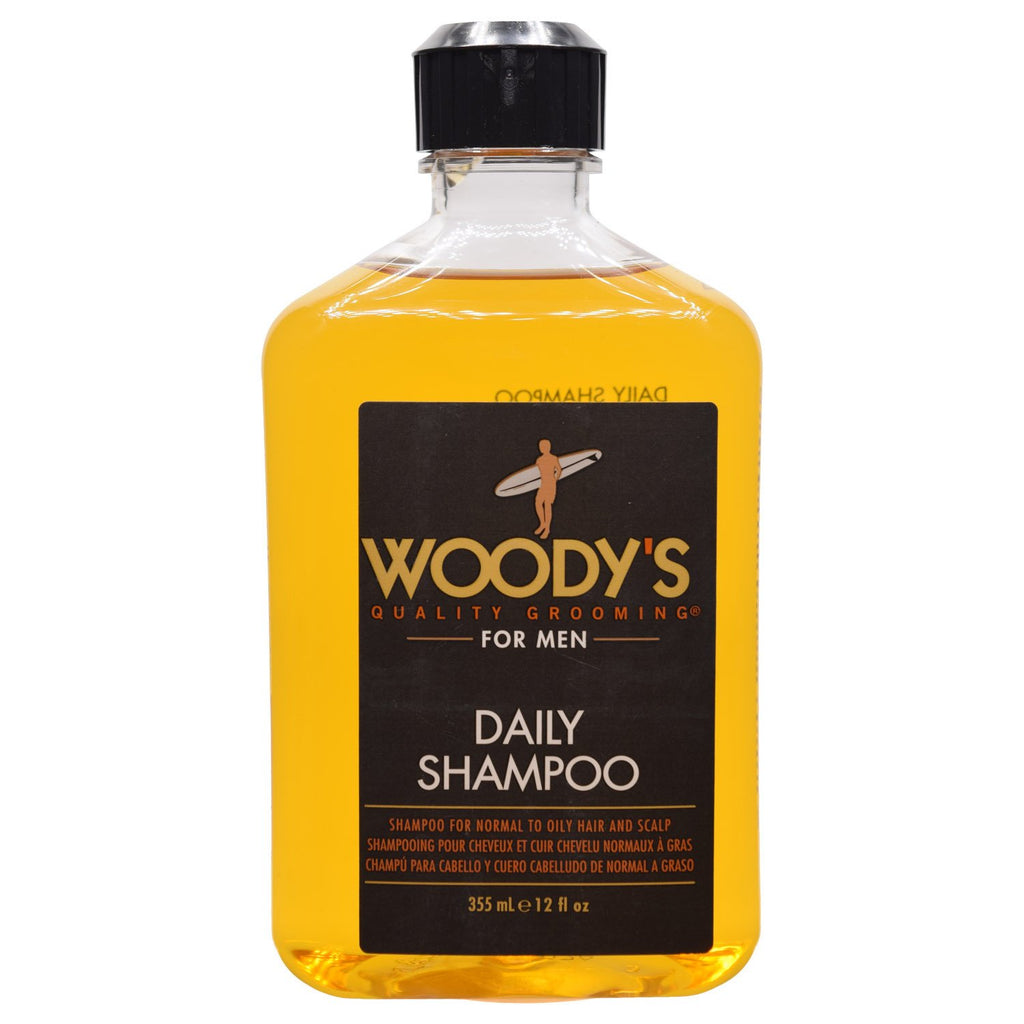 WOODY'S -For Men Daily Shampoo 12 fl oz