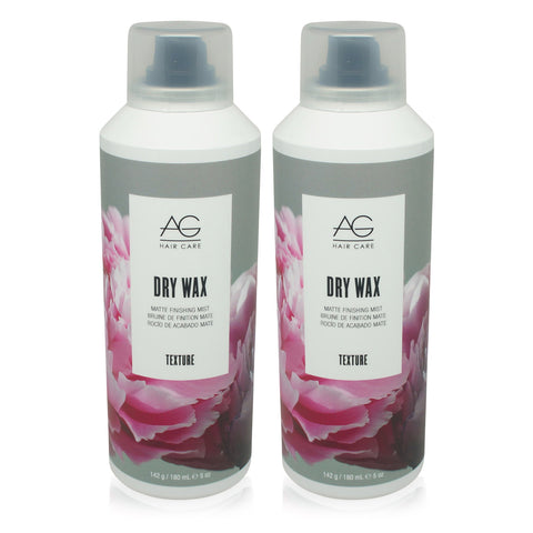 AGHAIR ~ DRY WAX MATTE FINISHING MIST ~ 5 OZ 2 PACK ~ ARESOL