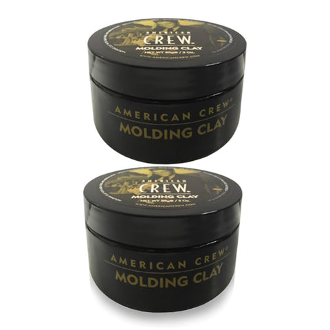AMERICAN CREW | MOLDING CLAY (3 OZ) | 2 PACK | HIGH HOLD | MEDIUM SHINE