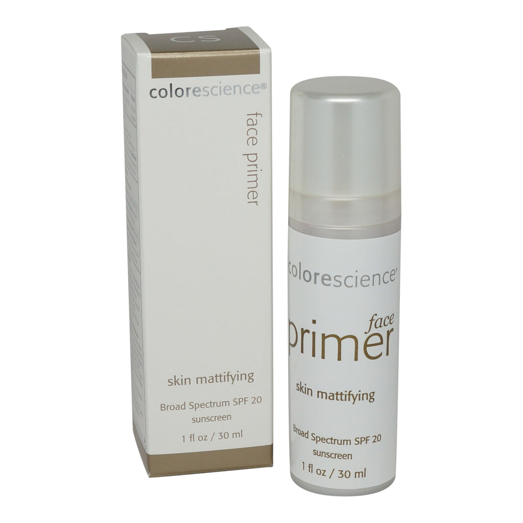COLORESCIENCE | FACE PRIMER | SKIN MATTIFYING (LET ME BE CLEAR) SPF 20 NEW