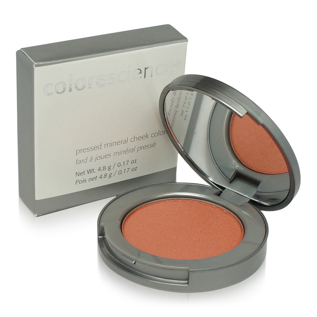 COLORESCIENCE | PRESSED MINERAL CHEEK COLORES | CORAL (BLUSHING BRIDE)