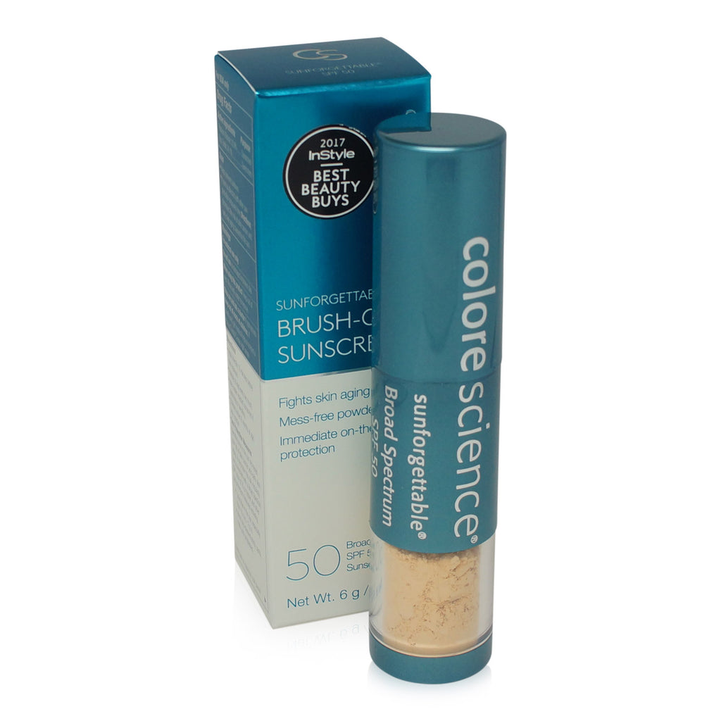 COLORESCIENCE ~ SUNFORGETTABLE BRUSH ON SUNSCREEN SPF 50 ~ FAIR