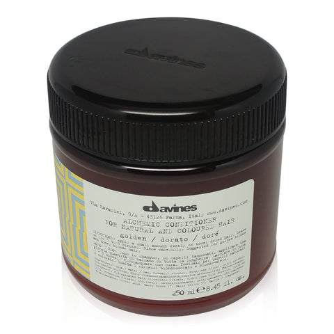 DAVINES ~ ALCHEMIC CONDITIONER GOLDEN ~ 8.45 FL OZ