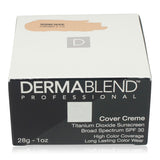 Dermablend Cover Foundation Creme SPF 30 -Warm Beige (Chroma 2 1/4) 1 Oz