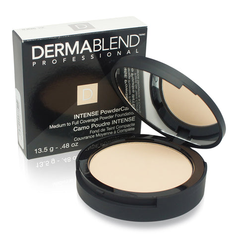 DERMABLEND ~ INTENSE POWDER CAMO (COMPACT FOUNDATION) ~ ALMOND