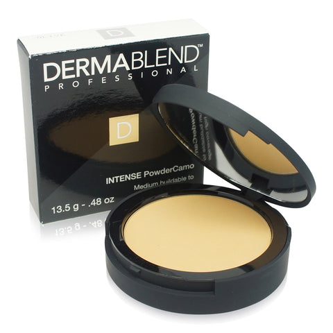 DERMABLEND ~ INTENSE POWDER CAMO (COMPACT FOUNDATION) ~ OLIVE