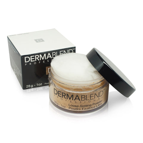 DERMABLEND ~ SETTING ~ LOOSE SETTING POWDER ~ WARM SAFFRON