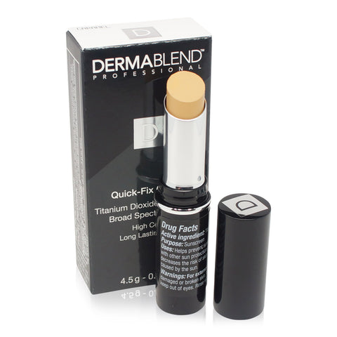 DERMABLEND ~ QUICK-FIX CONCEALER SPF 30 ~ CARAMEL ~ WITH DIRECTIONS