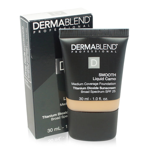 DERMABLEND ~ SMOOTH LIQUID CAMO FOUNDATION ~ CHESTNUT 40N