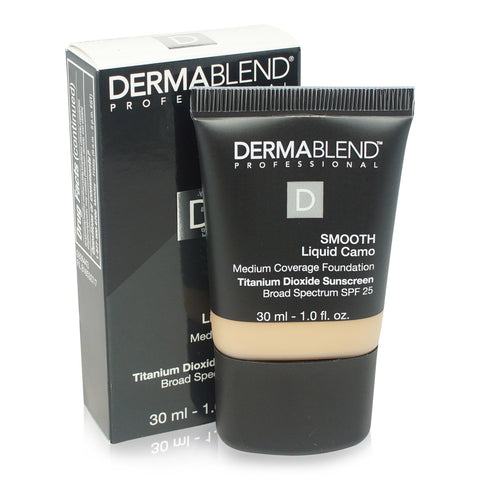 DERMABLEND ~ SMOOTH LIQUID CAMO FOUNDATION ~ NATURAL 25N
