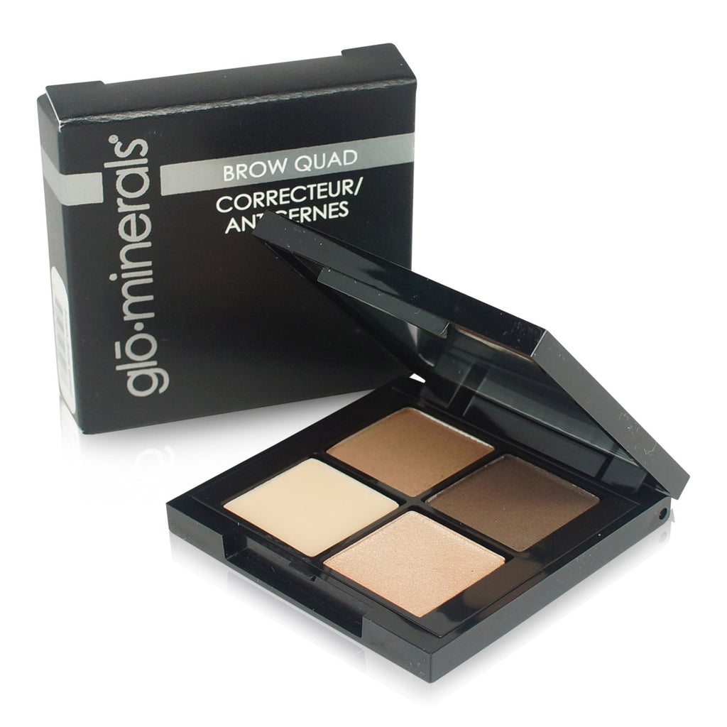 GLO PROFESIONAL | GLO MINERALS BROW QUAD BROWN