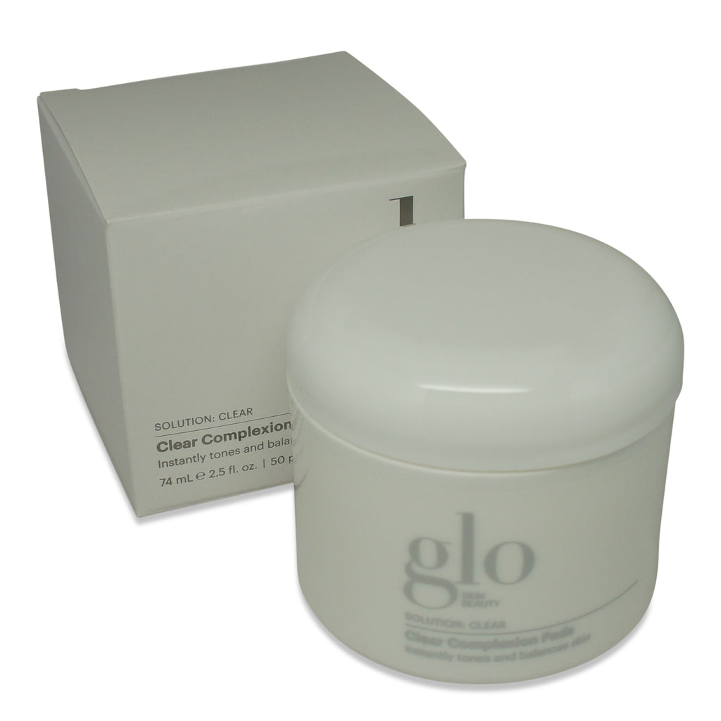 GLO SKIN | SOLUTION: CLEAR SKIN- CLEAR COMPLEXION PADS | 50PADS