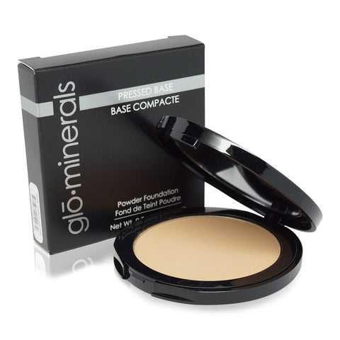 glominerals Pressed Base Foundation Honey Medium 0.35 Oz