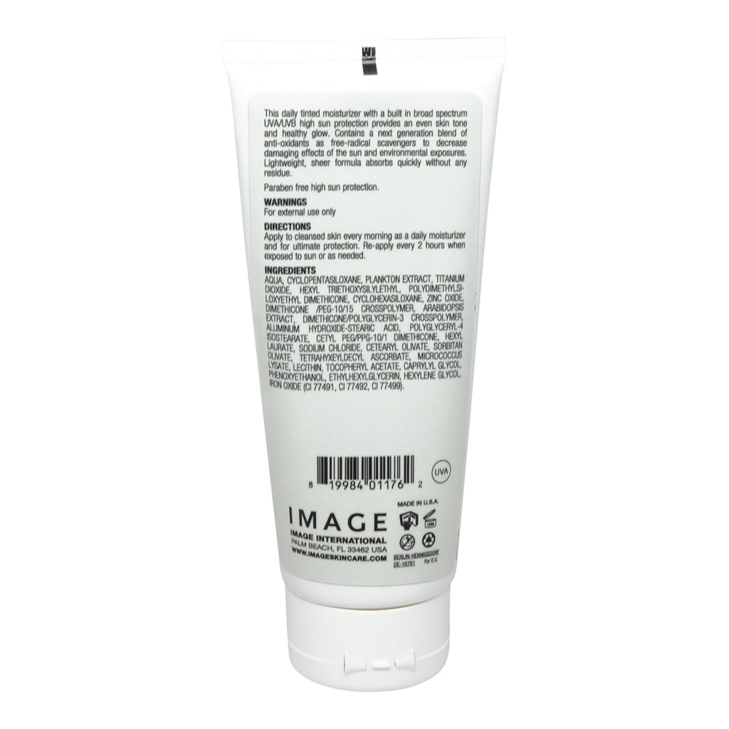 Image Skincare Prevention Plus Daily Tinted Oil Free Moisturizer Spf 3