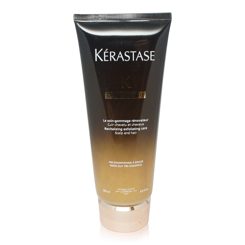 KERASTASE | CHRONOLOGISTE | REVITALIZING EXFOLIATING CARE SCALP AND HAIR PRE-SHAMPOO | 6.8 FL OZ