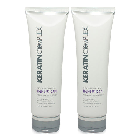 KERATIN COMPLEX ~ INFUSION THERAPY KERATIN REPLENISHER 4 OZ 2 PACK